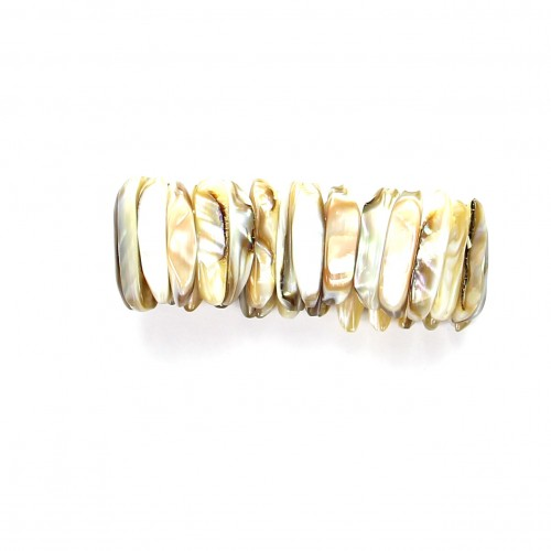 Armband aus Perlmut, 26 mm, Stretch